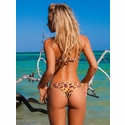 Ellies Beachwear Biquini Hunter Molded Strapless Top and Tie-Side Bottom