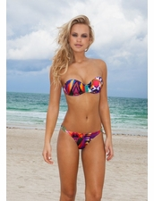 Ellies Beachwear Biquini Sun Moulded Two Piece Bikini in Inca