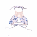 Frankie's Bikinis Mimi Top in Hawaiian Blush