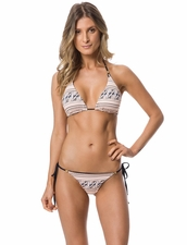 Guria Beachwear Safari Reversible Triangle Top