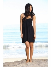 Indah Casha Dress in Black