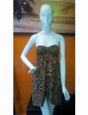 Indah Casha Dress in Chocolate Salt