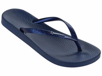 Ipanema Ana Tan Flip Flop in Navy/Navy