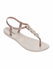 Ipanema Cleo Flip Flop in Rose Gold