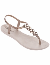 Ipanema Cleo Shine Flip Flop Rose Gold