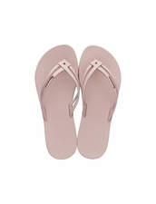 Ipanema Hashtag Flip Flop in Pink / Blush