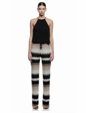 Karina Grimaldi Ana Knit Pants in Natural Knit