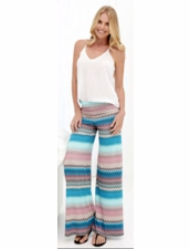 Karina Grimaldi Basic Knit Pants in Ocean