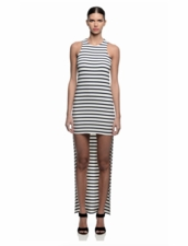 Karina Grimaldi Wilka Knit Dress in Stripe