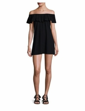 karla Colletto Josephine Off-The-Shoulder Dress