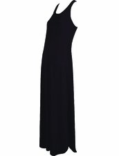 Karla Colletto Resortwear Long Tank Dress - Navy