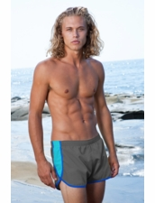 La Jolla Vintage Short in Charcoal by Sauvage