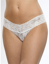 Lowrise Thong in White by Hanky Panky at Pesca Trend