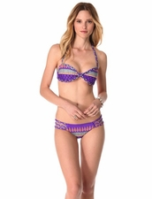 Mara Hoffman Frida Violet Braided Bandeau Top
