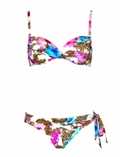 Maryan Melhorn Arabesque Underwire Bikini Top & Tie-Side Bottom