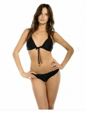Maya Swimwear Gemstone Front Tie Top & Signature Cut Bottom