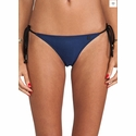 One Teaspoon Superman Bodice and Waxed Tiny Tie Side Bottom in Navy