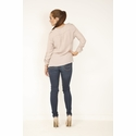 Parker Military Blush Top