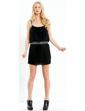 Parker Pleated Cami Dress
