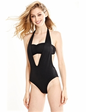 Peixoto Pari One-Piece Swimsuit in Black