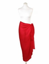 Pia Rossini Red Sarong