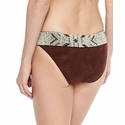 Pily Q Dakota Belted Brown Suede Bottom