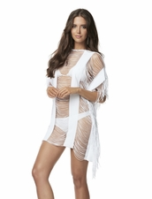 Pily Q Monique Cover-Up - White