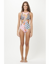 Salinas Swimwear Monokini One-piece Runway Collectoin