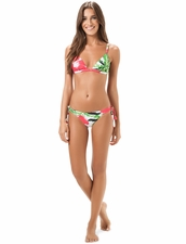 Salinas Swimwear Marline Fixed Halter Top & Tie-Side Bottom