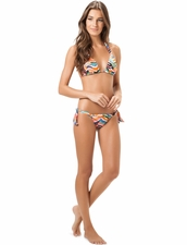 Salinas Swimwear Queen Halter Top & Tie-Side Bottom