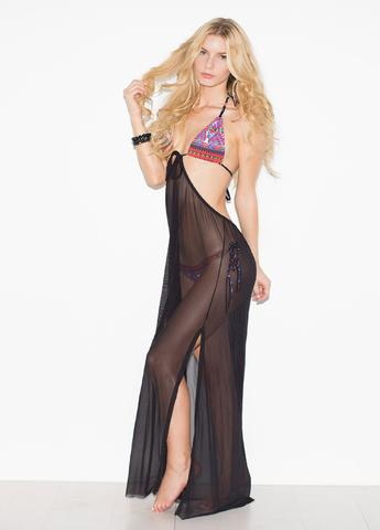 Solkissed Sabaidee Cover Up in Black
