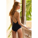 Touche Antique Marino Classic One Piece Swimsuit - Navy