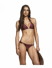 Vix Swimwear Burgundy  Thai Bottom