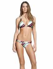 Vix Swimwear Vintage Stripe Bia Tube Bikin Bottom