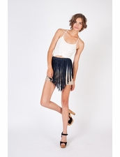 Young, Fabulous & Broke Fringe Skirt