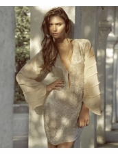 Zeugari Beachwear Antigua Tunic in Nude