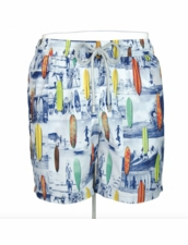 Zeybra Portofino 1962 AUB612 Surfboard People Swim Trunks