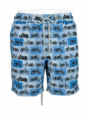 Zeybra Portofino 1962 AUB613 Motorcycle Swim Trunks