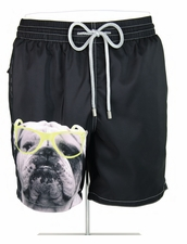 Zeybra Portofino 1962 AUB621 Bulldog Swim Trunks