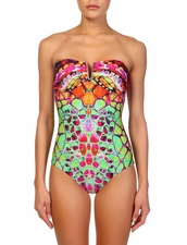 Ziek Swimwear M.2249-17US Strapless One Piece Swimsuit