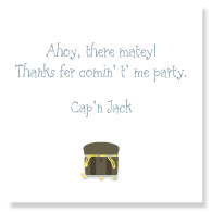 Ahoy, Matey Favor Tag/Set of 25