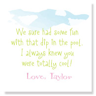 Cannonball Favor Tags/Set of 25