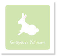 Green Bunny/Set of 25