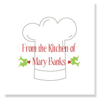 Holiday Chef/Set of 25
