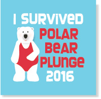 Polar Bear Vinyl Mug Sticker/Set of 24