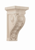 01600937HM1 Infinity Decorative Wood Corbel Medium Hard Maple