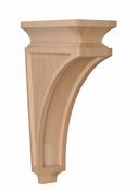 01601203HM1 Mission Bar Corbel Hard Maple
