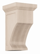 01606005HM1 Shaker Wood Corbel Hard Maple