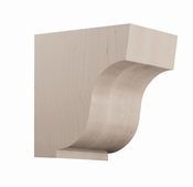 01607004HM1 Simplicity Wood Corbel Large Hard Maple