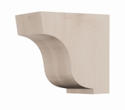01607005HM1 Simplicity Wood Corbel Small Hard Maple
